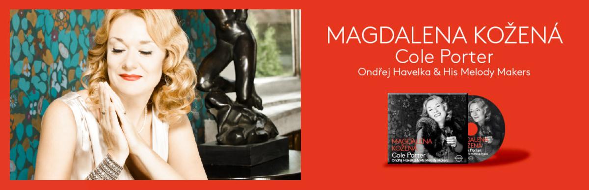 Magdalena vydává nové CD s písněmi Colea Portera