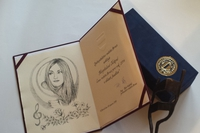 """Magdalena has received an award from """"her"""" Brno"""
