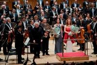 Záznamy koncertů z Magdalenina turné s Berlínskou filharmonií
