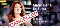 Zrušení koncertu 10. 10. 2015 - Praha