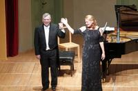 Ovations for Magdalena and Malcolm!