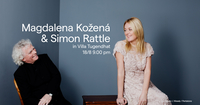 Magdalena a Simon Rattle ve vile Tugendhat