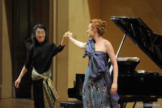 Magdalena and Mitsuko Uchida