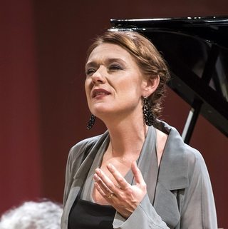 Magdalena and chamber orchestra (Prague, 2016)