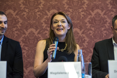 Magdalena představila nadační fond na podporu ZUŠ