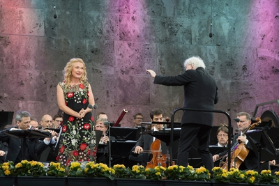 Magdalena at the Waldbühne Berlin