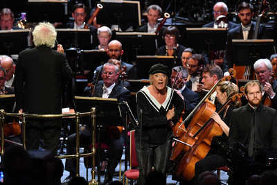 Prom 48: London Symphony Orchestra, Simon Rattle and Magdalena Kozena perform Ravel