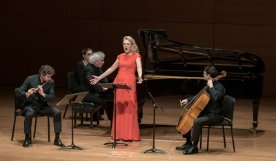 Magdalena and friends at Alice Tully Hall