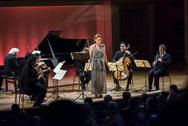 Magdalena and chamber orchestra (Prague, 2016)