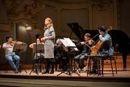 Magdalena and chamber orchestra (Hamburg, 2016)