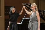 Magdalena and Mitsuko Uchida (1/2019 Prague)